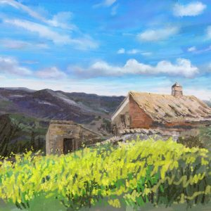 View above Zamorano. Andalucia by Francesca Wyllie